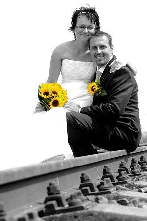 Soutěžní svatební pár číslo 16 - Jitka a Lukáš Protivánkovi, Hlušovice
