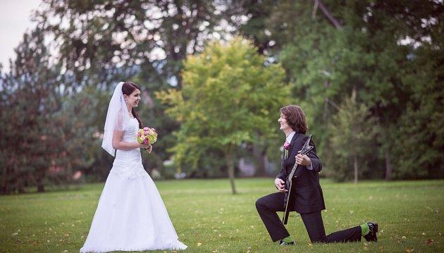 Soutěžní svatební pár číslo 248 - Jana a Petr Vosynkovi, Šumperk.