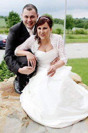 Soutěžní svatební pár číslo 35 - Pavla a Josef Vetiškovi, Uherský Brod.