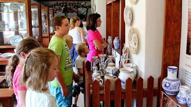 Na nudu vpříměstském tábořeMuzea tupeské keramiky neměly děti čas.