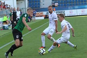 Krajní obránce Petr Reinberk vstřelil jediný gól Slovácka v sobotním zápase proti NK Maribor.