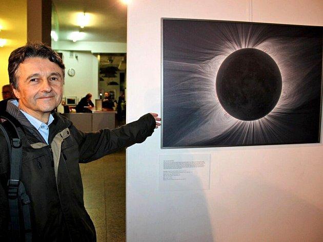 Výstava vědce a astrofotografa Miloslava Druckmüllera v hradišťském kině Hvězda