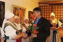 Vernisáž výstavy Muzikantská krajina se konala ve čtvrtek 6. listopadu v uherskohradišťské Redutě.