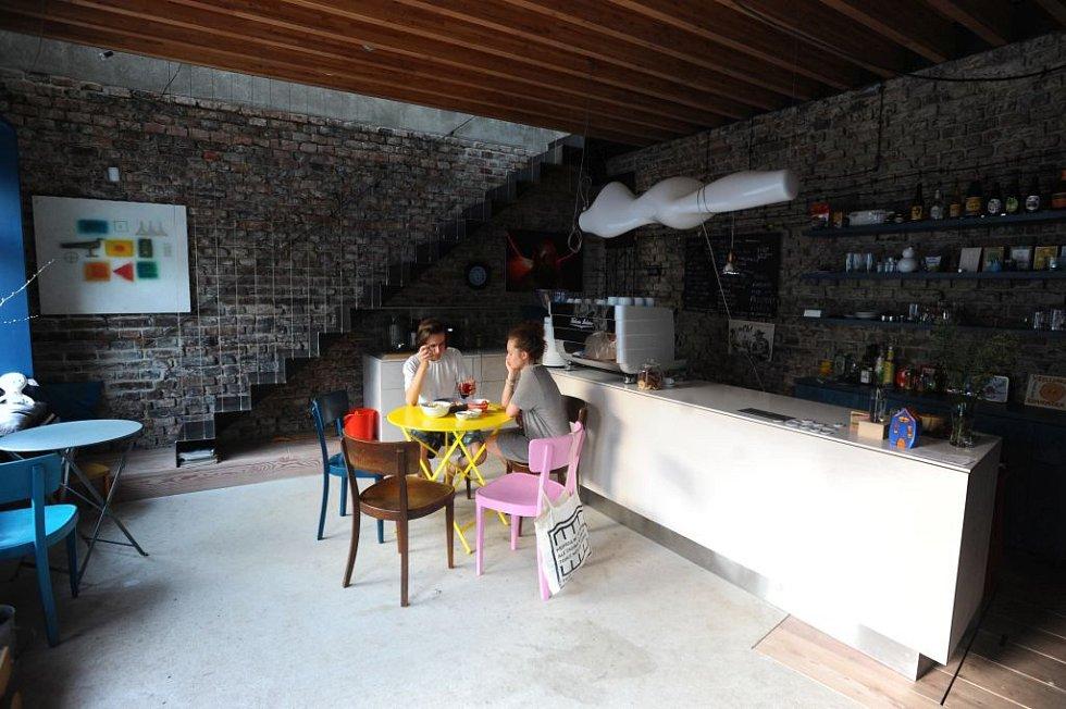 Koloniál Buďánka - interiér.
