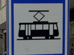 Tramvajová zastávka. Ilustrační foto.