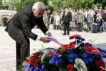 Pietní akt ke Dni vítězství, Národní památník na Vítkově v úterý 8. května.