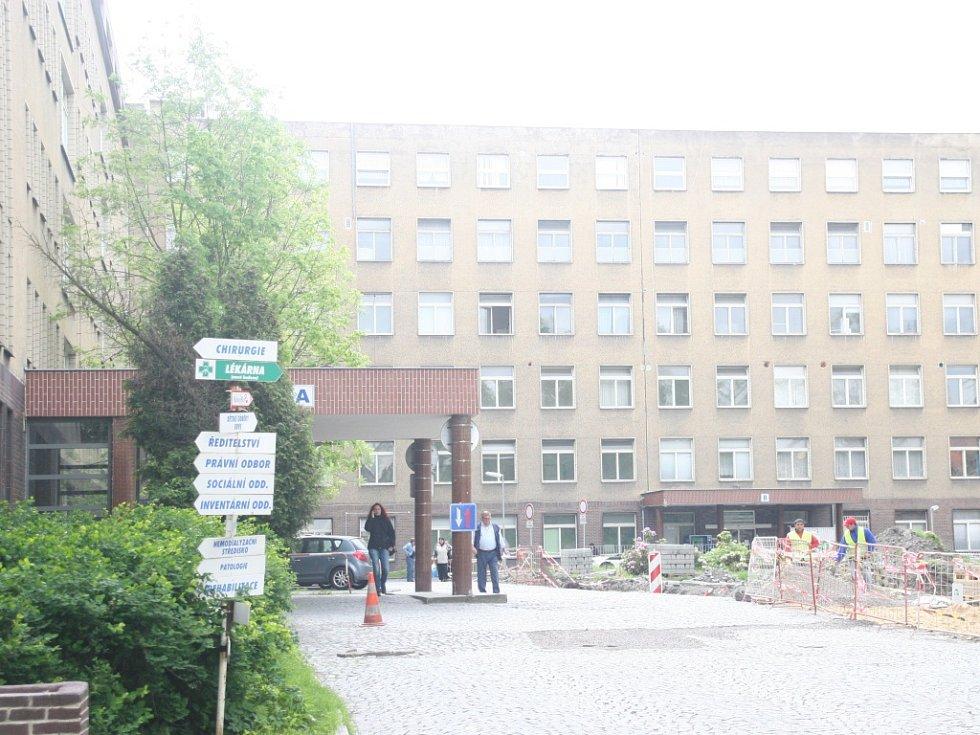 Kladenská nemocnice.