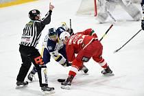 Hokejisté Slavie nestačili na Litoměřice