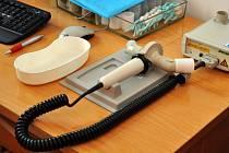 Přístroj na vyšetření plic. Ilustrační foto.