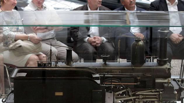 Zahájení výstavy 170 let železnice v Praze v Národním technickém muzeu