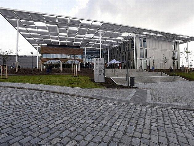 Laserové centrum v Dolních Břežanech u Prahy.