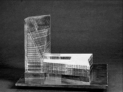 DRUHÝ V POŘADÍ. Tak se umístil v architektonické soutěži na novou Národní knihovnu návrh, jehož autorem je Kevin Carmody z Velké Británie.
