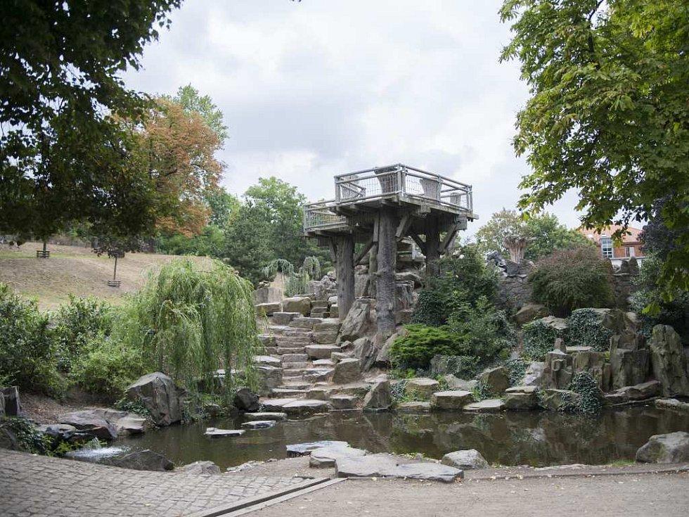 Park Podvinní.
