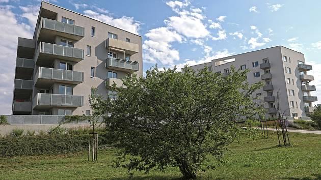 Bytová zástavba - Zahrady Opatov.