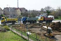 Zahájení výstavby Viladomů v ulici Na Farkáně v Praze 5.