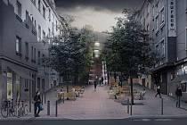 Na Bělohorské ulici v Praze má být živo. Naznačuje to vizualizace Institutu plánování a rozvoje hlavního města. Přednost před auty dostanou chodci a cyklisté.