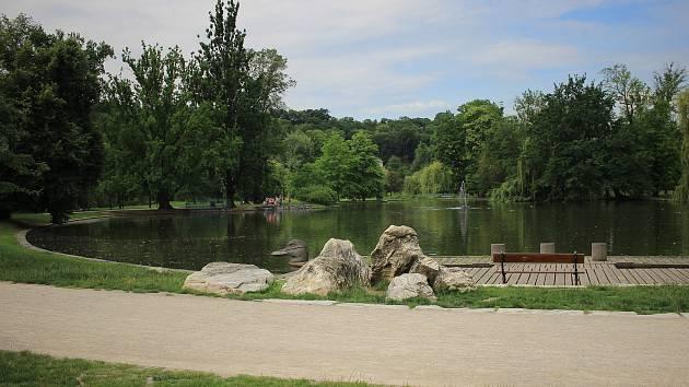 Rudolfův rybník ve Stromovce