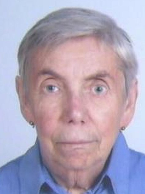 Pohřešovaná seniorka.