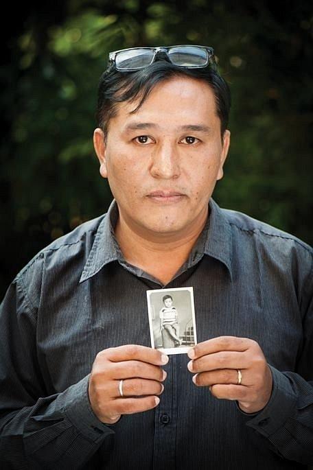 Pamětník Linn Thant v thajském městě Čiang Mai, kde pracoval jako žurnalista.