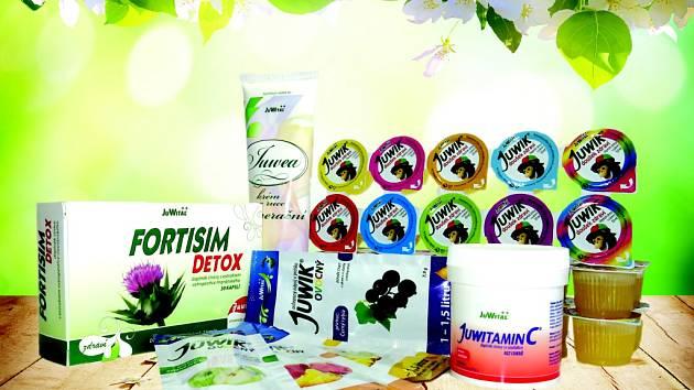 Zdraví prospěšný balíček od společnosti JuWital.