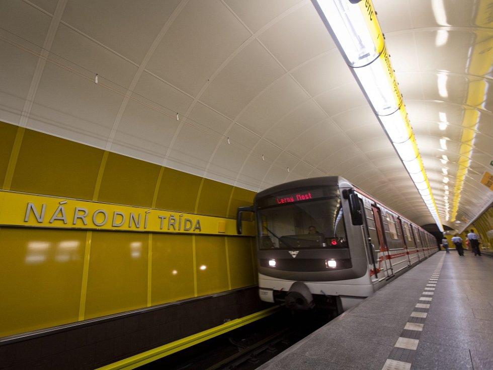 Metro. Ilustrační foto.