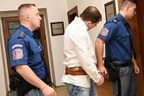 Radek M. odsouzený za vraždu v Libřici