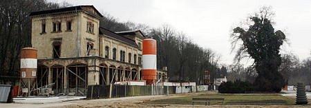 Někdejší Šlechtova restaurace ve Stromovce.