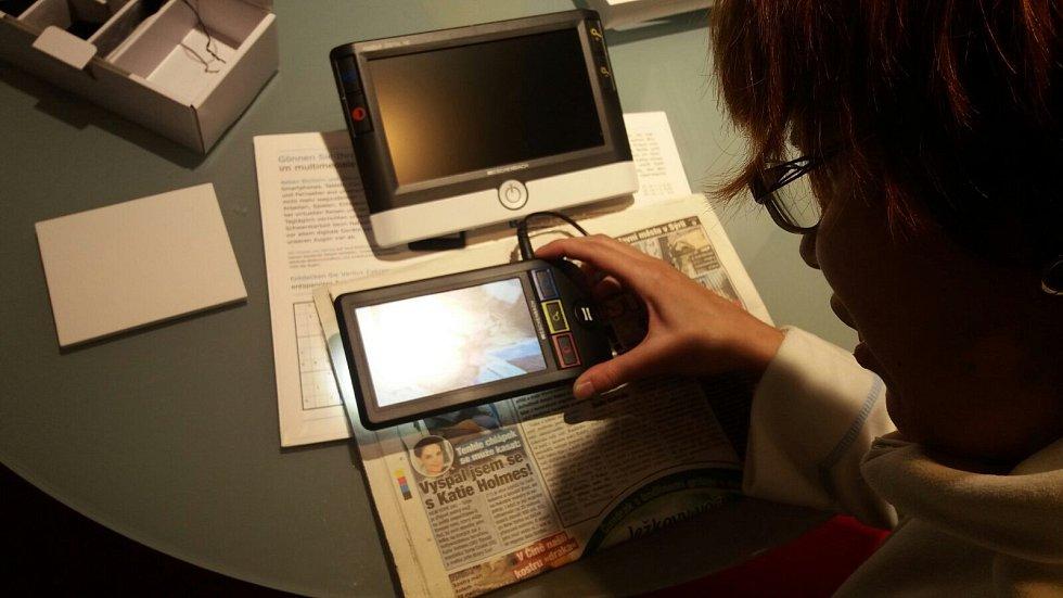 Anička podstoupila vyšetření v německé optice