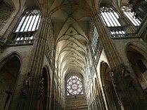 Katedrála sv. Víta na Pražském hradě.
