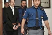 Marcel Hazdra u Krajského soudu v Praze.