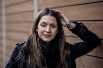 Česká zástupkyně pro pěveckou soutěž Eurovision Martina Bárta vystoupila 20. dubna na tiskové konferenci v Praze.