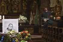 Poslední rozloučení s bývalým politickým vězněm a skautským činovníkem Jiřím Navrátilem proběhlo 22. ledna v Praze.