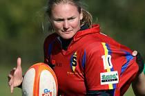 PRVNÍ MISTRYNĚ. Premiérový ročník ženské rugbyové ligy vyhrály hráčky Sparty.