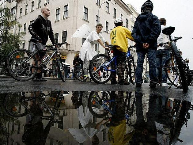 Velká podzimní cyklojízda proběhla v rámci akce Zažít město jinak.