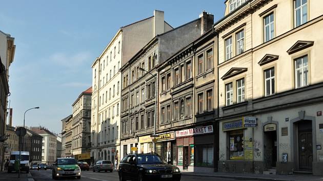 Husitská ulice na Žižkově. Ilustrační foto.