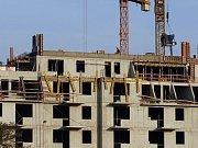 Stavba bytů. Ilustrační foto.