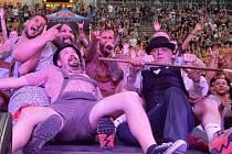 V branických Ledárnách na letní scéně Lucerna music baru dnes večer vystoupí tanzmetalová kapela Trautenberk.