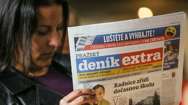 Na Snídani s Deníkem přišli klienti VLM a zástupci obchodu i redakce na Občanskou plovárnu v pátek 3. září 2021.