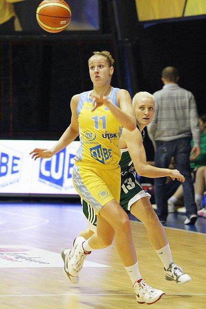 Kateřina Elhotová byla tahounkou USK v souboji s VŠ Praha