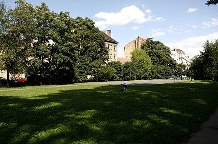 Park Kavalírka v Praze 5. Námět na jeho zastavění se objevilo mimo jiné v novém územním plánu Prahy 5.