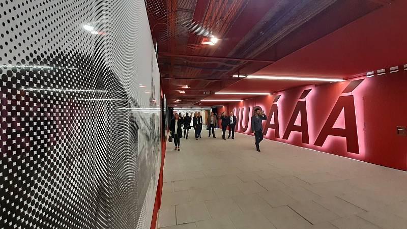 Veřejnosti se otevřel podchod, který umožní průchod z hlavního nádraží na Žižkov.