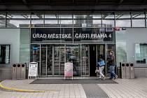Úřad městské části Praha 4.