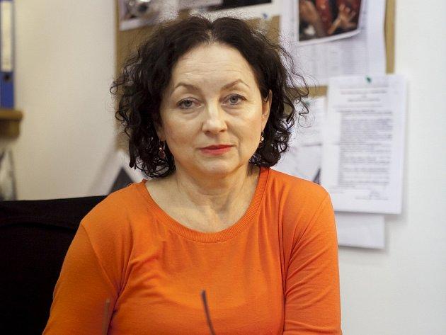 Umělecká ředitelka festivalu tanečních filmů Jana Návratová.