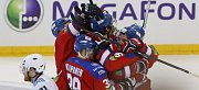 Finále play off Kontinentální hokejové ligy – 6. zápas: Lev Praha – Metallurg Magnitogorsk 5:4 v prodl. (2:1, 1:3, 1:0 - 1:0).