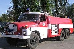 STARÉ, ALE STÁLE SLOUŽÍ. Říčanští dobrovolní hasiči museli vyjíždět za letošek ke třinácti požárům.