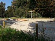 Nové dětské hřiště ve Stromovce.