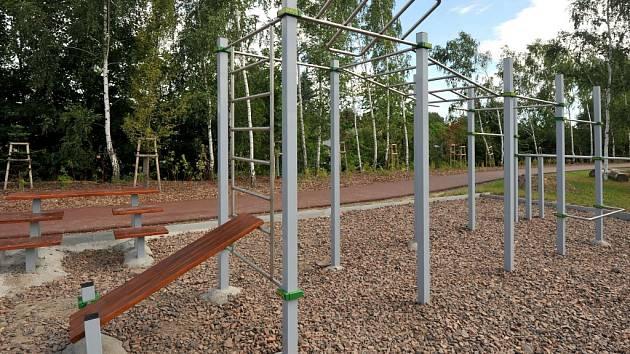 Workoutové hřiště. Ilustrační foto.