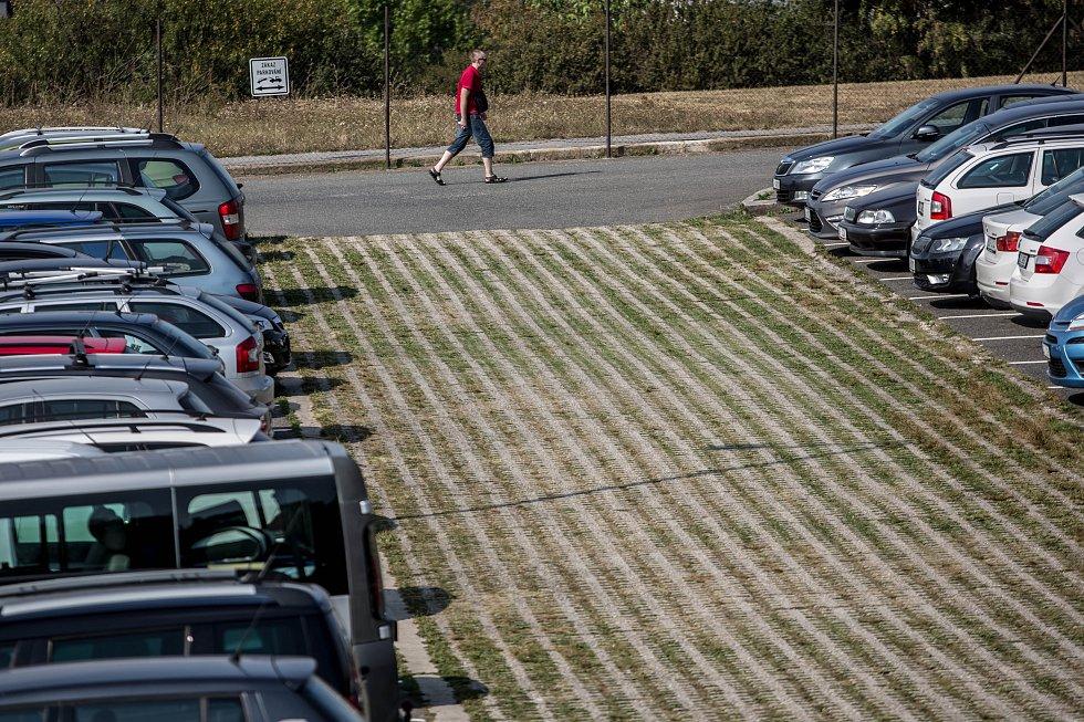 Záchytné parkoviště P+R