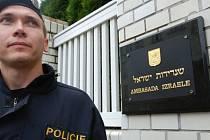 Izraelská ambasáda. Ilustrační foto.