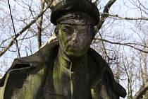 Hrob legionáře Čeňka Klose.
